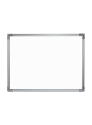 Fos Single Sided Magnetic Whiteboard, 90 x 120cm, White