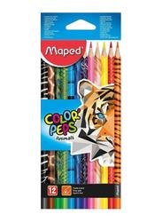 Maped 12-Piece Color Peps Coloring Pencil Set, Multicolor