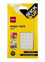 Deli A216 10 Stick Up Magic Tack, White