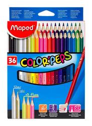 Maped 36-Piece Colour Pencil Set, Multicolour