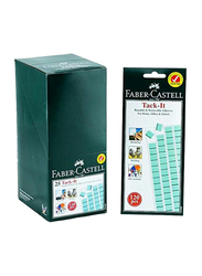 Faber-Castell Tack-It Tape Set, 120 Pieces, Blue