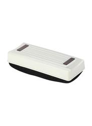 Deli Magnetic White Board Eraser, Light Grey