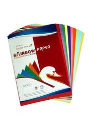 Color Printer Paper, 250-Sheets, 80GSM, A4 Size, Multicolour