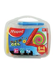 Maped 10-Piece Colour Peps Gel Crayons Set, Multicolour