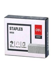 Deli Expert Stapler Pin, 4 Packs, Silver
