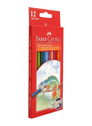 Faber-Castell 12-Piece Big Colour Pencil Set, Multicolour
