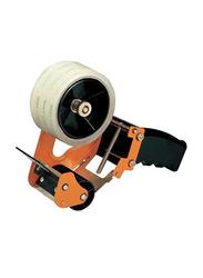Deli Carton Sealer Tape Dispenser, Orange/Black