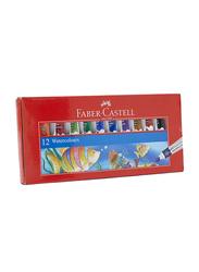 Faber-Castell 12-Piece Water Color Set, Multicolor