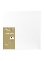 Mont Marte Professional Series Canvas Board, 45.7 x 45.7, White