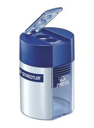 Staedtler Tub Type Sharpener, Blue/Silver