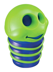 Maped Caterpillar Shaped Two Hole Sharpener, Blue/Green