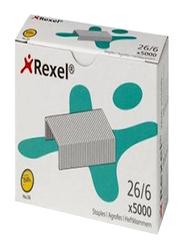 Rexel No.56 26-6 Staple Pin, 5000, Silver