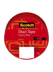 3M Scotch Duct Tape, 48mm 18.2m, Cherry Red