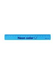Deli Clap-Clap Bracelet Ruler, Blue