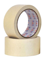 Asmaco Masking Tape, 2 Inch, White