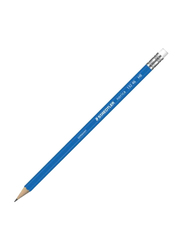 Staedtler Norica Pencil with Rubber, Tip Blue