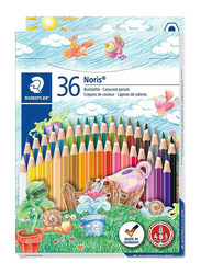 Staedtler 36-Piece Noris Cylinder Color Pencil Set, Multicolor
