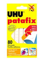 UHU Glue Pad, 80-Piece, White