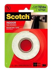 3M Indoor Mounting Tape, White