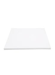 5-Piece Blank Artist Canvas Panel Wooden Board Frame, 40X50cm, White
