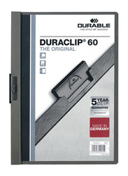 Durable 2209-10 Duraclip, A4 Size, Grey