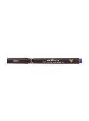 Uniball Uni Pin Fine Liner Marker, Black/Blue