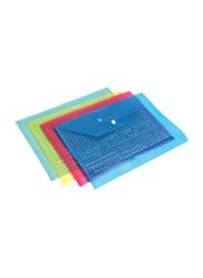 Modest Document Storage Filling Envelope Set, 4-Piece, Multicolour