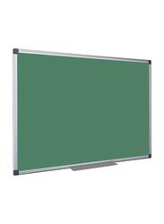 Partner Felt Chalk Board, Green/Silver