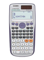 Casio 12-Digit Digital Scientific Calculator, Silver
