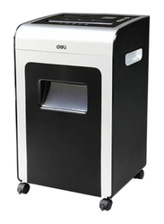 Deli Heavy Duty Paper Shredder, Black/Grey