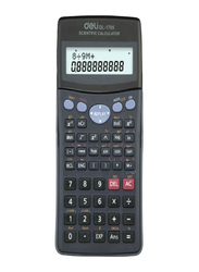 Deli Scientific Calculator, DL-1705, Grey/Black
