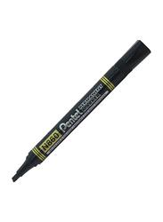 Pentel 12-Piece N860 Chisel Tip Permanent Marker Set, Black