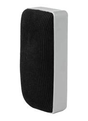 Deli Magnetic White Board Duster, Grey/Black