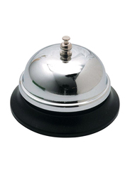 Office Call Bell, Silver/Black
