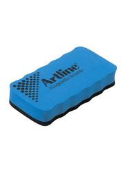 Artline Magnetic Dry Board Eraser, Blue/Black
