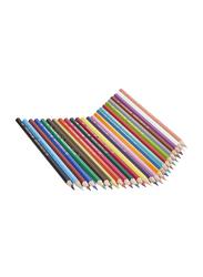Faber-Castell 24 Classic Colour Pencil, with Sharpener, Multicolour
