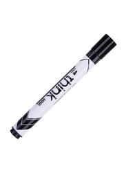 Deli 12-Piece Think U001 Dry Erase Marker Set, Black