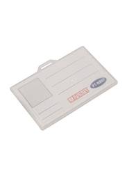 The Bookshop Partner ID Card Holder, White