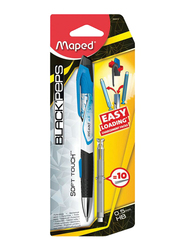 Maped Reload Mechanical Pencil, with Lead, Blue/Black/Silver