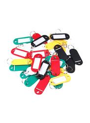 Modest 100-Piece Key Tags, Multicolor