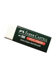 Faber-Castell 20-Piece Eraser Set, White