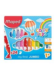 Maped 24-Piece Color'Peps Felt Tip Colouring Pen Set, Multicolour