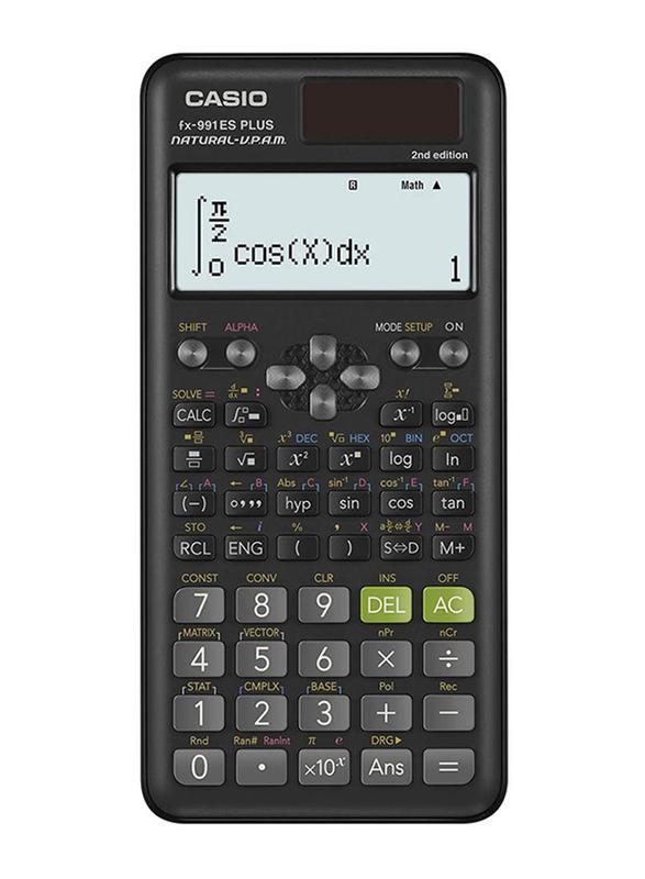 Casio Fx-991Es Plus 2nd Edition Scientific Calculator, Black