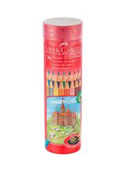 Faber-Castell 36-Piece Color Pencil Set, Multicolor