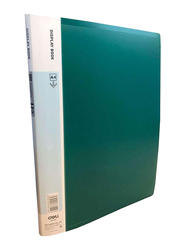 Deli A4 Display Book File, Green
