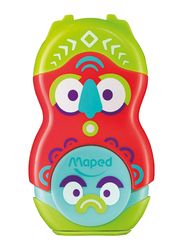 Maped Loopy Eraser and Sharpener Combo, Multicolor