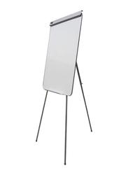 Partner Flip Chart Tripod Stand, White/Silver