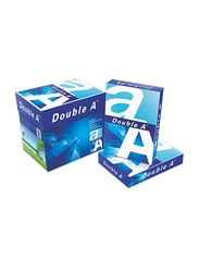 Double A Premium 80GSM Printer Paper, 5 x 500 Sheets, A4 Size, White