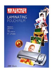 Partner A5 Lamination Pouch Film, 100 Sheets, Clear