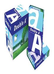 Double A Premium 80GSM Printer Paper, 5 x 100 Sheets, A4 Size, White